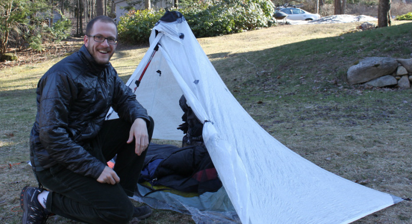 Wearing my MontBell Thermawrap Jacket before the start of my 2011 Appalachian Trail Thru-Hike  sc 1 st  Peaks and Valleys - Musings of an Adventurous Spirit & Montbell Thermawrap Jacket - Peaks and Valleys - Musings of an ...